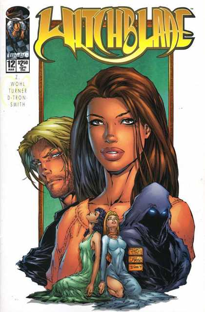 Witchblade 12 - Woman - Man - Big Lips - March - Image - Michael Turner