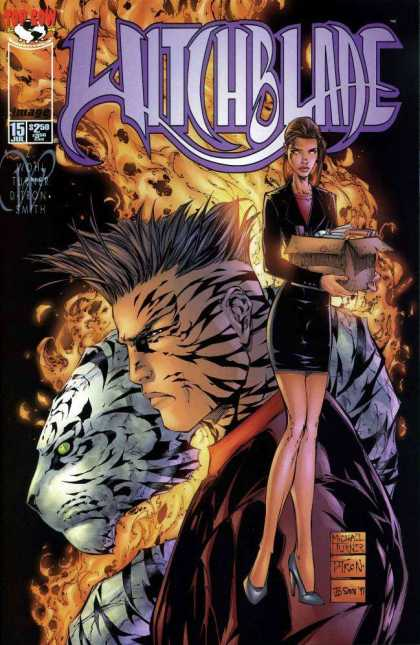 Witchblade 15 - Witch - Supehero - White Tiger - Tiger Man - Top Row - Michael Turner