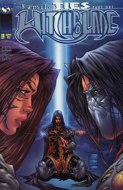 Witchblade 18 - Family Ties Part 1 - 18 Nov - 250 - Smith - D-tron - Michael Turner