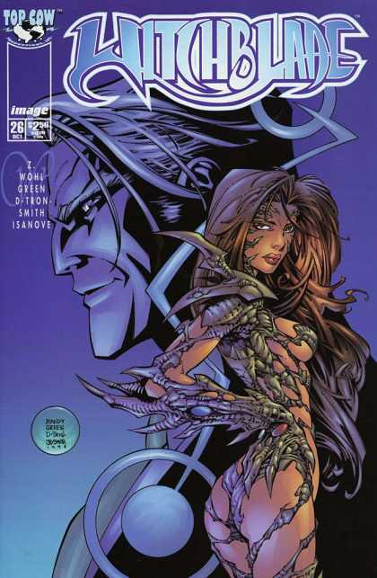 Witchblade 26 - Top Cow - Image - Green - Smith - Isanove