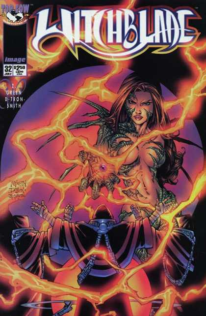 Witchblade 32 - Lightning - Claw - Moon - Powerfull - Fire