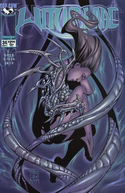 Witchblade 34 - Image - Top Cow - Z Green - D Tron Smith - Monster