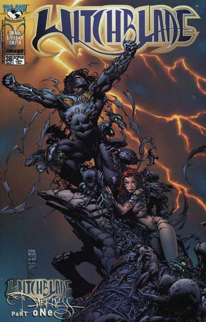 Witchblade 36 - Top Cow - Witchblade - Thunder - Small Livesay Smith - Witchblade Darkness Part One