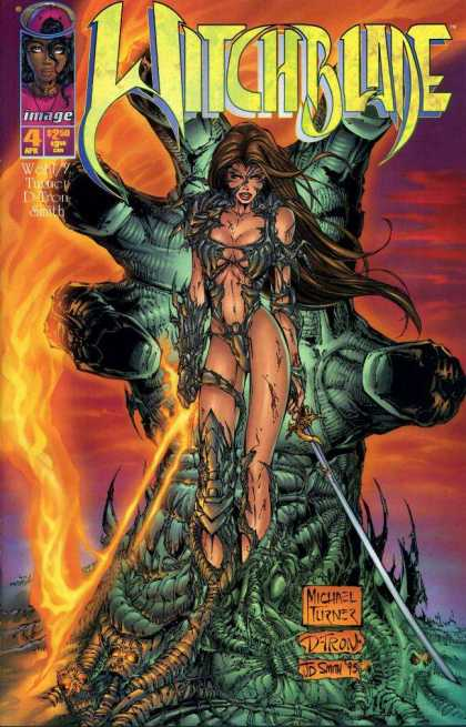 Witchblade 4 - D-tron - 4 Apr - Jd Smith - Michael Turner - Wohl - Michael Turner