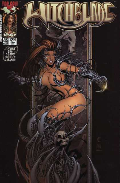 Witchblade 45 - Top Cow - Image - Jenkins - Dreamer - Babe