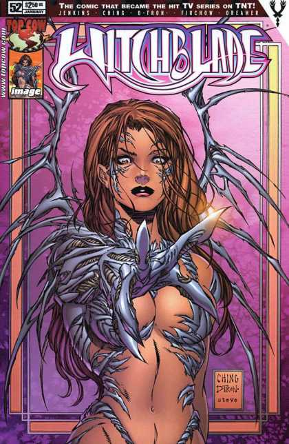 Witchblade 52 - Cute Woman - Wings - Claw - Silver Eyes - Red Hair
