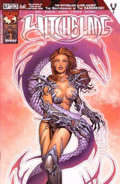 Witchblade 57 - Dragon - Talons - Armor - Blades - Francis Manapul