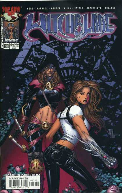 Witchblade 63 - Super Woman - Fighter Women - Mask - Knifes - Special Lady - Francis Manapul