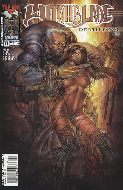 Witchblade 71 - Top Cow - Death Pool 2 - Kirk - Buccellato - Dreamer