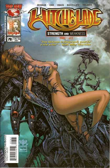 Witchblade 76 - Costume - Woman - Hickman - Strength And Weakness - Sky