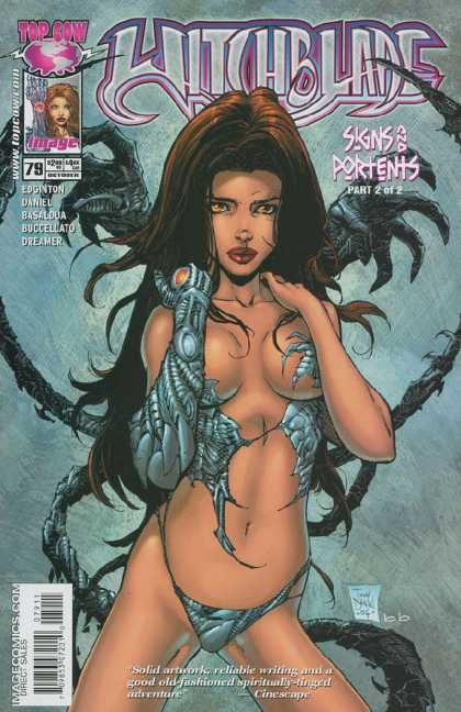 Witchblade 79 - Sknd And Portents - Carottn Leddy - Spider - Open Hair - Valger Lady