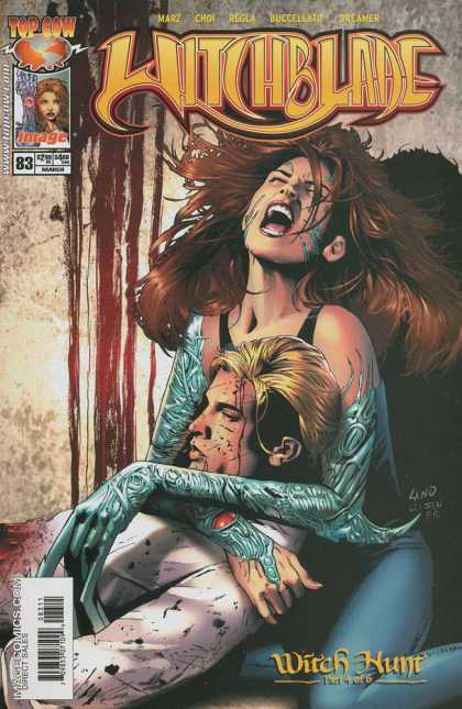 Witchblade 83 - Top Cow - Top Cow Comics - Witch - Blade - Witch Hunt