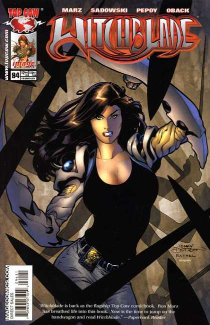 Witchblade 94 - Marz - Sadowski - Pepoy - Oback - Top Cow - Terry Dodson
