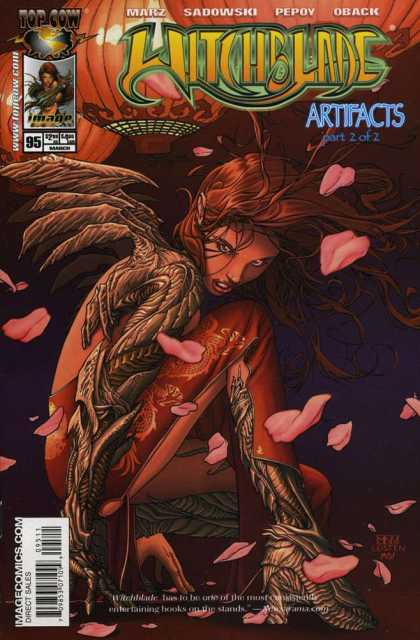 Witchblade 95 - Marz - Sadowski - Pepov - Oback - Artifacts - Morry Hollowell, Steve McNiven