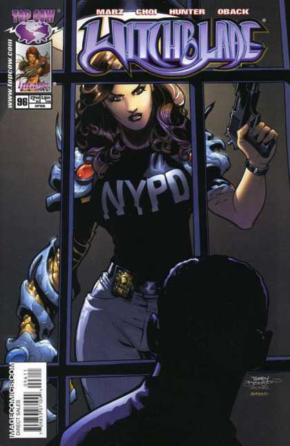 Witchblade 96 - Nypd - Female Cop - Prisoner - Interrogation - Fear - Terry Dodson