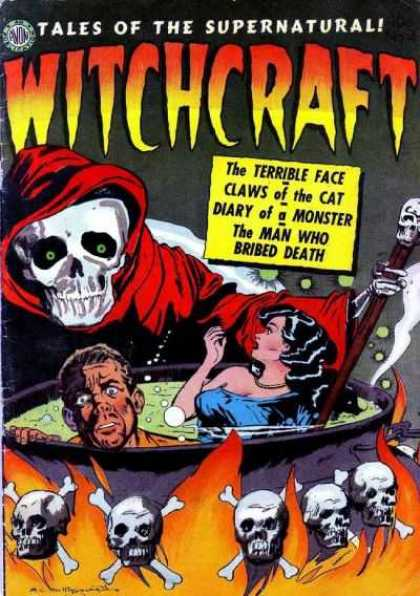 Witchcraft 4 - The Terrible Face - Claws Of The Cat - Diary Of A Monster - The Man Who Bribed Death - Cauldron