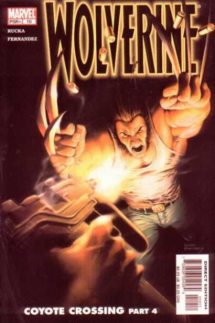 Wolverine (2003) 10 - Rucka Fernandez - Marvel - Mutant - Claws - Fighting