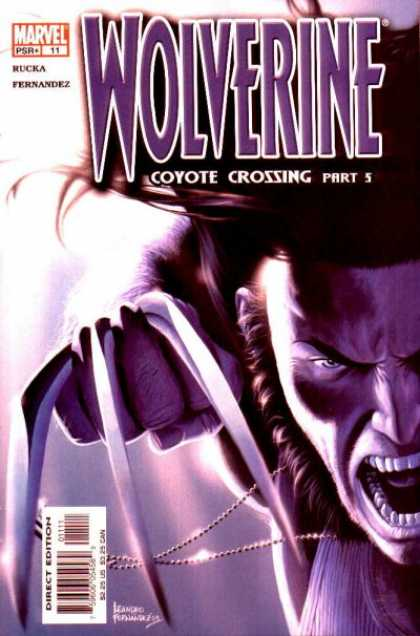 Wolverine (2003) 11 - Coyote Crossing Part 5 - Rucka - Fernandez - Silver Necklace - Marvel