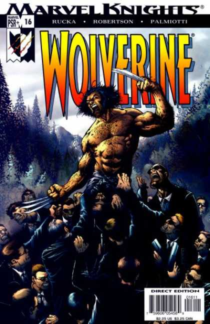 Wolverine (2003) 16 - Rucka - Robertson - Palmiotti - The Wolverine Against The G-men - Marvel Knights - Darick Robertson