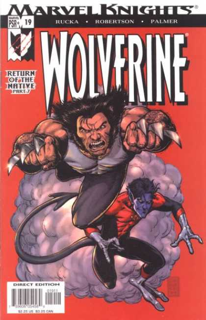 Wolverine (2003) 19 - Rucka - Robertson - Palmer - Return Of The Native - Nightcrawler - Darick Robertson