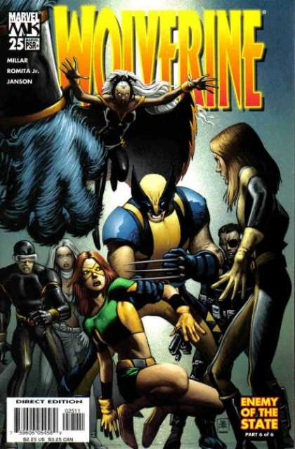 Wolverine (2003) 25 - X Men - Storm - Enemy Of The State - Cyclops - Phoenix - John Romita
