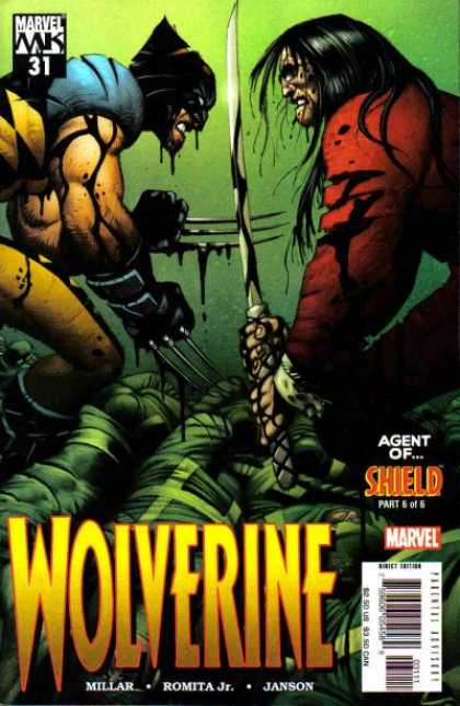 Wolverine (2003) 31 - Marvel Mk - 31 - Agent Of Shield - Millar - Romita Jr - John Romita, Richard Isanove