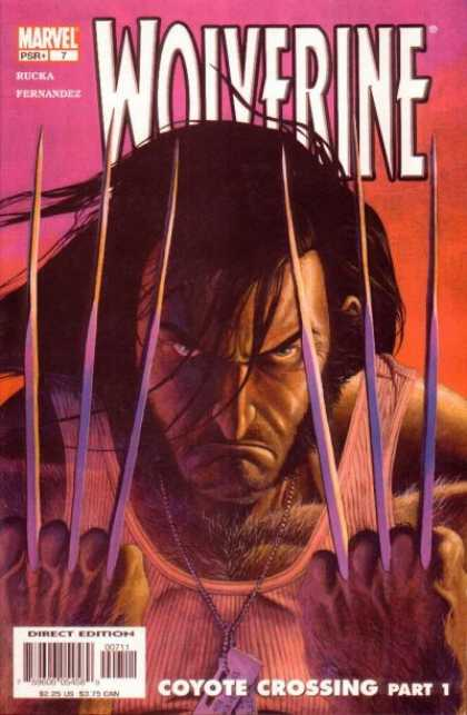 Wolverine (2003) 7 - Marvel - Claws - Rucka - Fernandez - Coyote Crossing