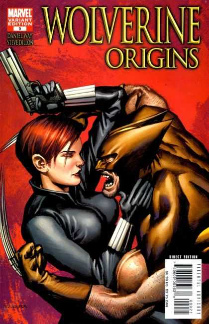 Wolverine Origins 9 - Marvel Variant Edition - Daniel Way - Steve Dillon - X-men - Gun