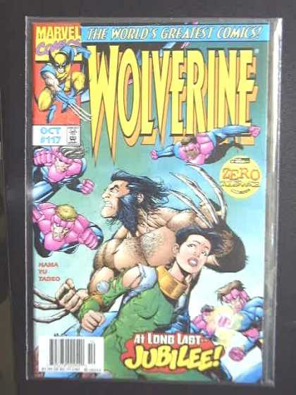Wolverine 117 - 117 - Claws - At Long Last Jubilee - Woman - Flying - Leinil Yu