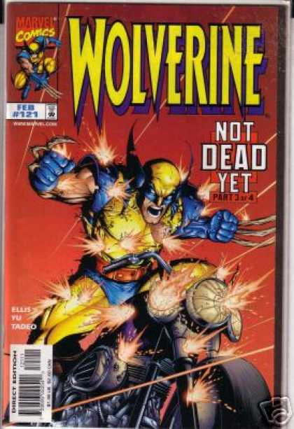 Wolverine 121 - Not Yet Dead - Hero - Fight - Victory - Marvel Comics - Leinil Yu