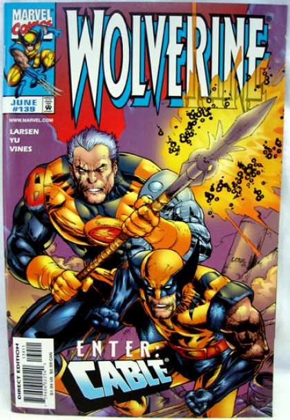 Wolverine 139 - Marvel Comics - Wolverine - Cable - 139 - June - Leinil Yu