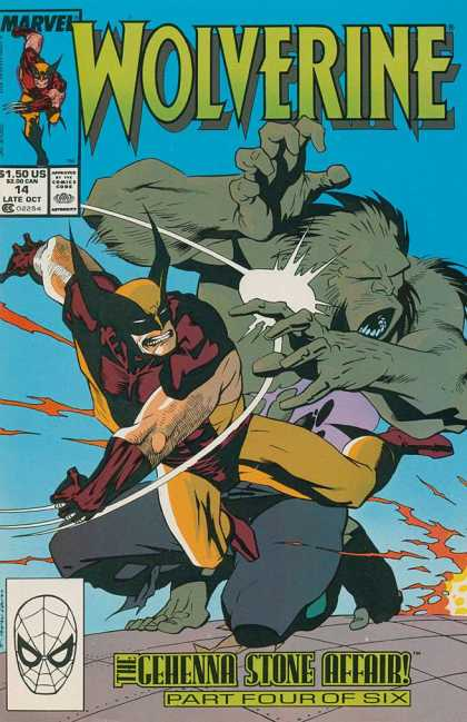 Wolverine 14 - Marvel - Marvel Comics - X-men - Monster - Logan - Kevin Nowlan
