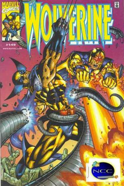 Wolverine 149 - Marvel Comics - Xmen - Tenticles - Explosion - Claws - Sean Chen