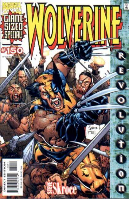 Wolverine 150 - Giant Sized Special - Steve Skroce - Marvel Comics - Revolution - Fight