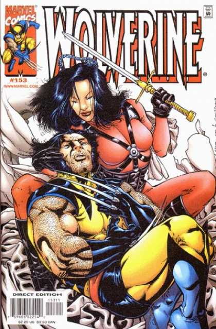 Wolverine 153 - Marvel - Sword - Romance - One Lady - One Strong Man
