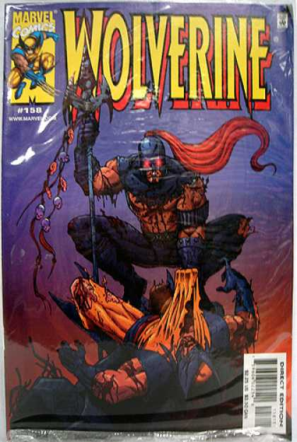 Wolverine 158 - Spear - Battle - Blood - Marvel - Fight