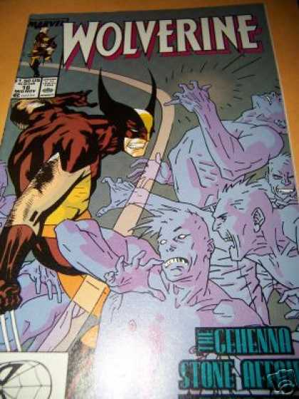 Wolverine 16 - X-man - Marvel Comics - Super Hero - Claws - Spider Man - Kevin Nowlan