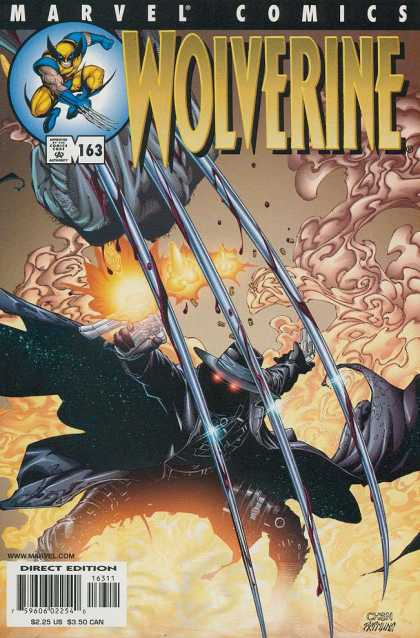 Wolverine 163 - Marvel Comics - Mutant - Approved By The Comics Code - Gun - Direct Edition - Sean Chen