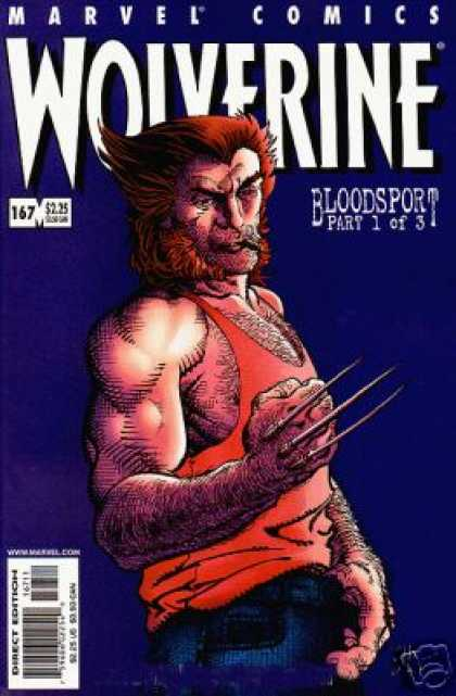 Wolverine 167 - Marvel Comics - Bloodsport - Part 1 Of 3 - 167 - 225 - Barry Windsor-Smith