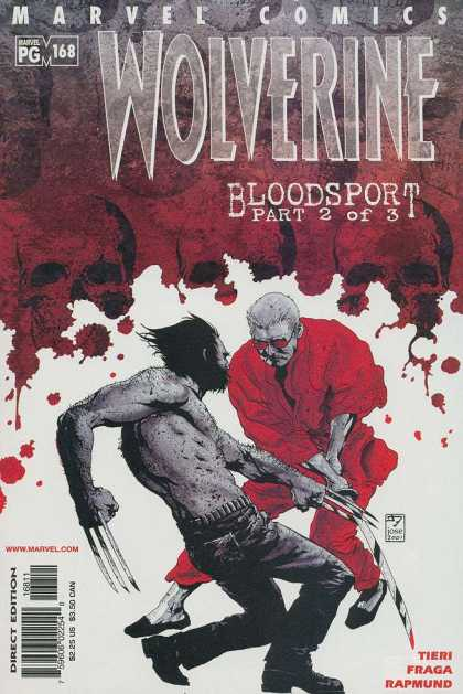 Wolverine 168 - Bloodsport Part 2 Of 3 - Claws - Fighting - Sword - Fraga - III Williams, Jose Jimenez-Momediano