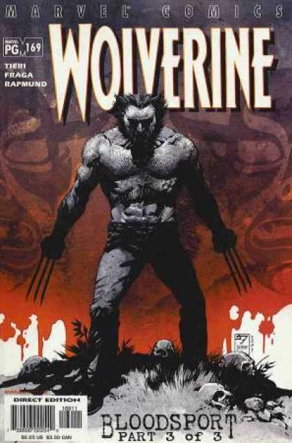 Wolverine 169 - Skulls - 169 - Tieri - Bloodsport 3 Of 3 - Direct Edition - III Williams, Jose Jimenez-Momediano