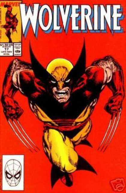 Wolverine 17 - Savage - Claws - X-men - Mouth Open - Hairy - John Byrne