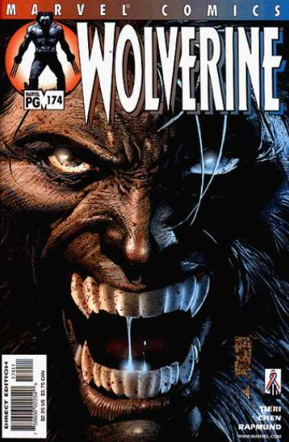 Wolverine 174 - Marvel Comics - Chen - Rapmund - Fangs - Beast - David Finch, Jose Jimenez-Momediano