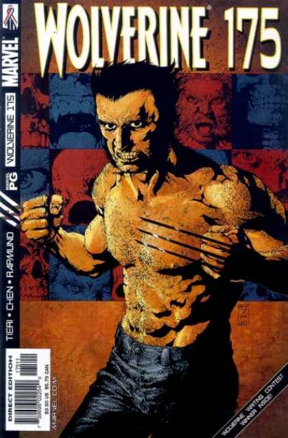 Wolverine 175 - Muscle - Andry Face - Mad Face - Eye - Mouth - III Williams, Jose Jimenez-Momediano