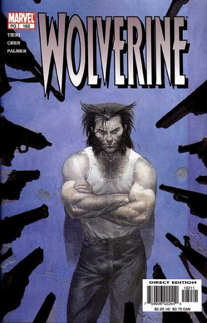 Wolverine 182 - Purple - Guns - Black - Marvel - Tanktop - Esad Ribic