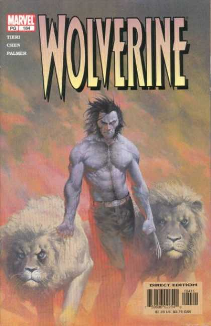Wolverine 184 - Wolverine - Marvel - Pg - Lions - Direct Edition - Esad Ribic