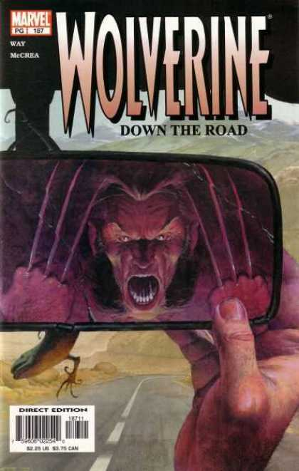 Wolverine 187 - Marvel - Down The Road - Way Mccrea - Direct Edition - Claws - Esad Ribic