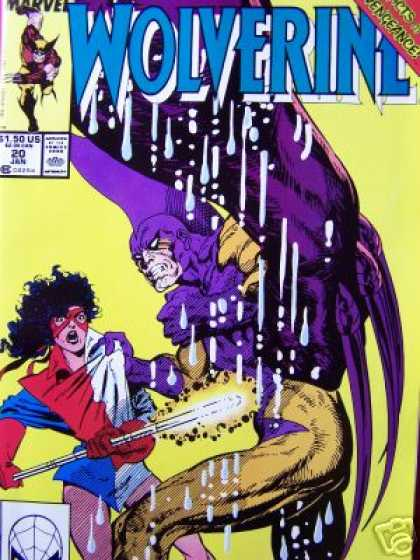Wolverine 20 - X-men - Marvel - 150 Us - 20 Jan - Spider-man - John Byrne