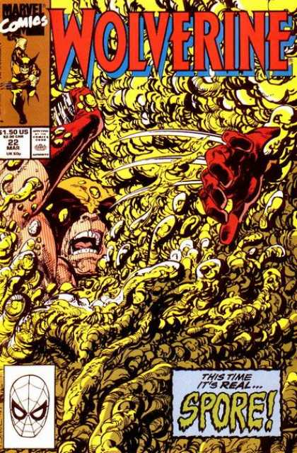 Wolverine 22 - Spores - Screaming - Running - Drowning - This Time Its Real - John Byrne