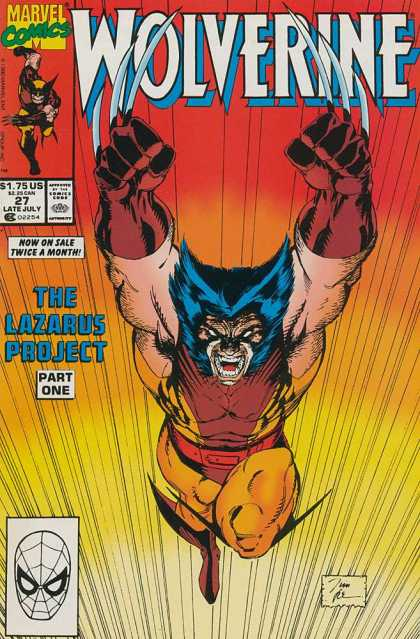 Wolverine 27 - Jim Lee
